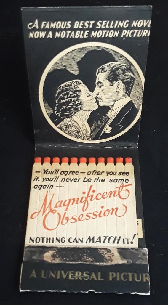 1935 MOVIE STUDIO PROMOTIONAL MATCHBOOK