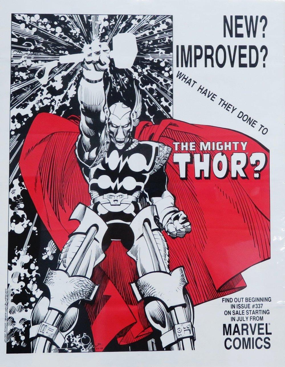 1983 MARVEL COMICS POSTER