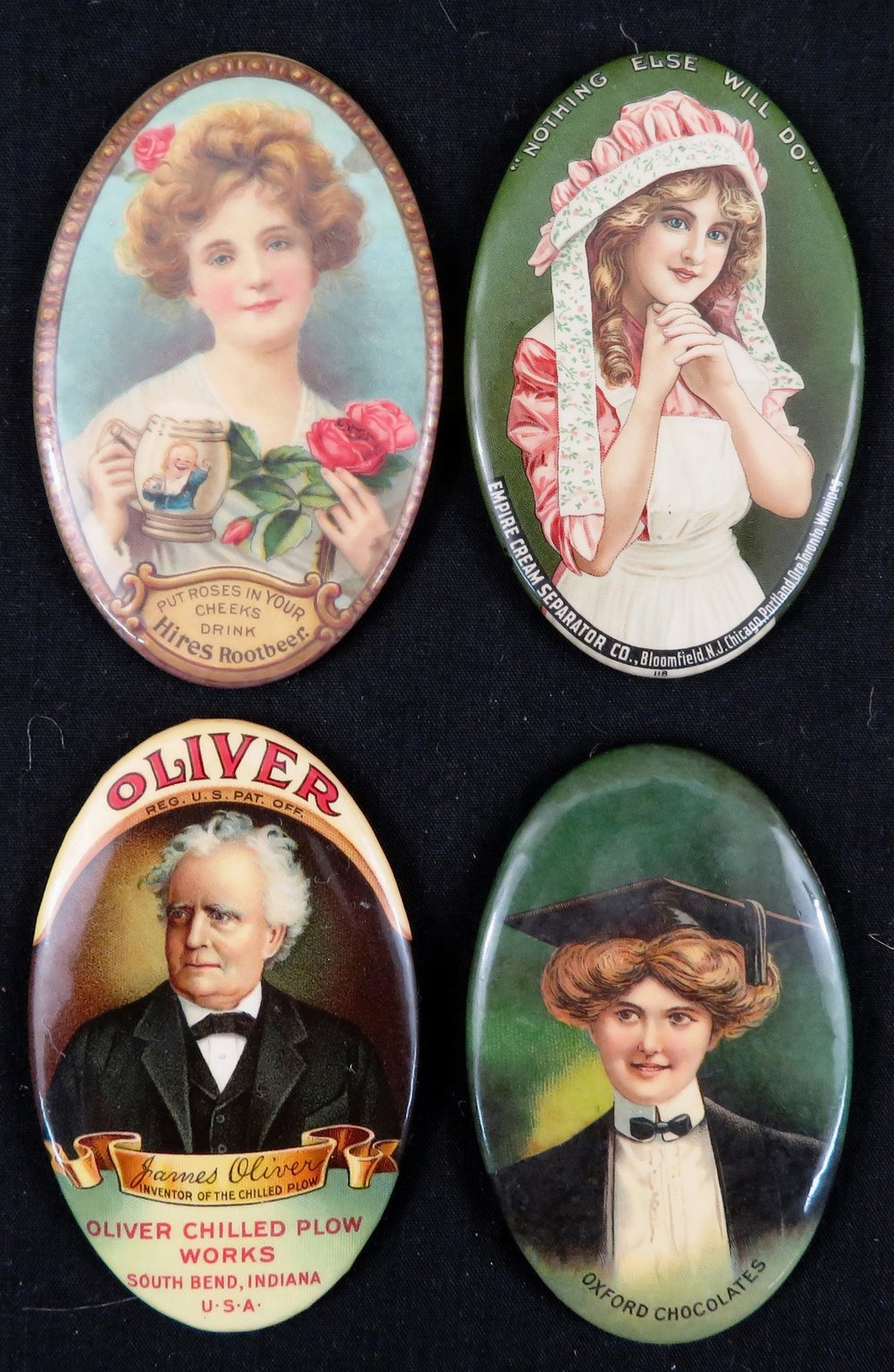 CELLULOID POCKET MIRRORS