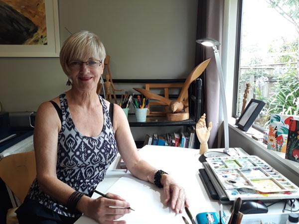 Kimbra Taylor - Artist & Art Teacher