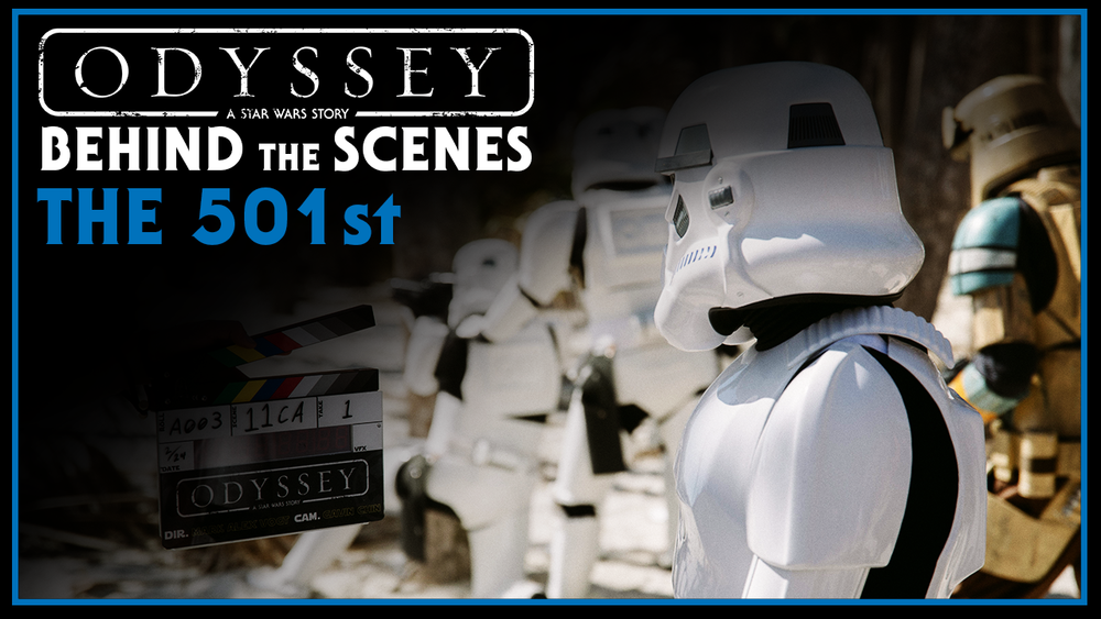 We enlisted the help of the 501st legion to bring an unmatched level of costume quality to the screen. Absolutley nothing is more exciting than seeing stormtroopers on set. Trust me.