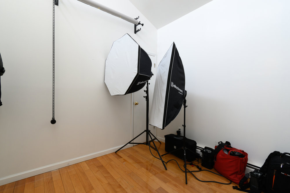White and black backdrops are back-ordered.