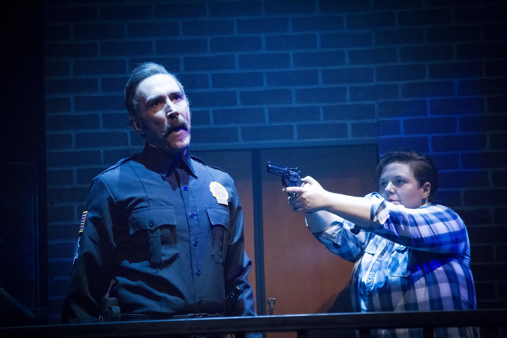 Gregory Lush and Kelsey Leigh Ervi in HIT THE WALL at WaterTower Theatre photo by Jason Anderson (2).jpg