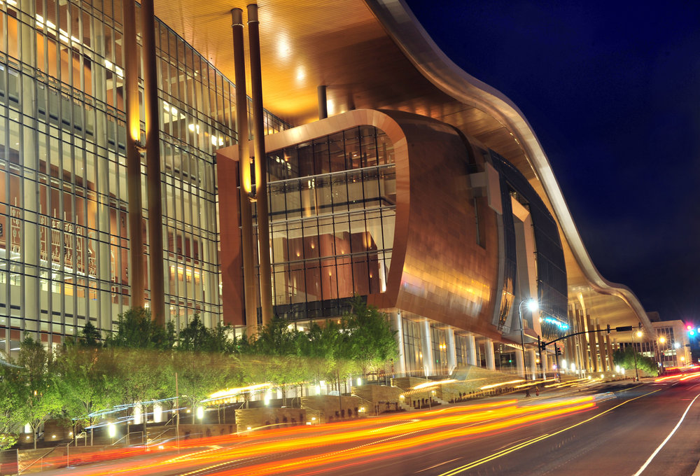 The Music City Center convention hall in Nashville, Tenn.