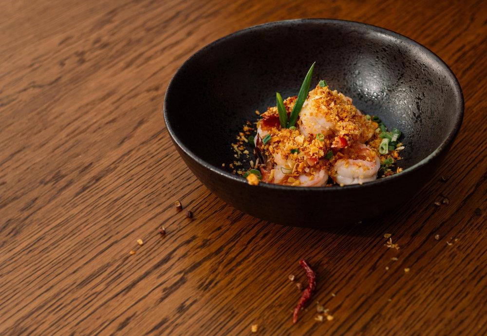 Crispy Shrimps und vieles mehr bei Wesley's Kitchen! -