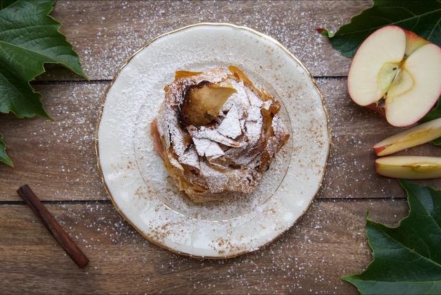 Apfel-Zimt, um sich in Winterstimmung zu bringen. -