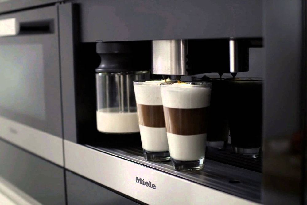 Miele - German engineered premium kitchen appliances.