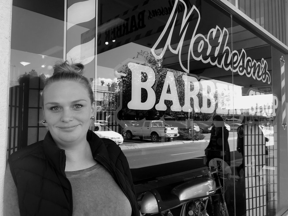 Q&A with Arielle Rose - This third generation Barber Shop owner is anything but small town. Her refreshing views on hard work, the millennial-age and feeling fulfilled, are provoking and yet totally humour driven!