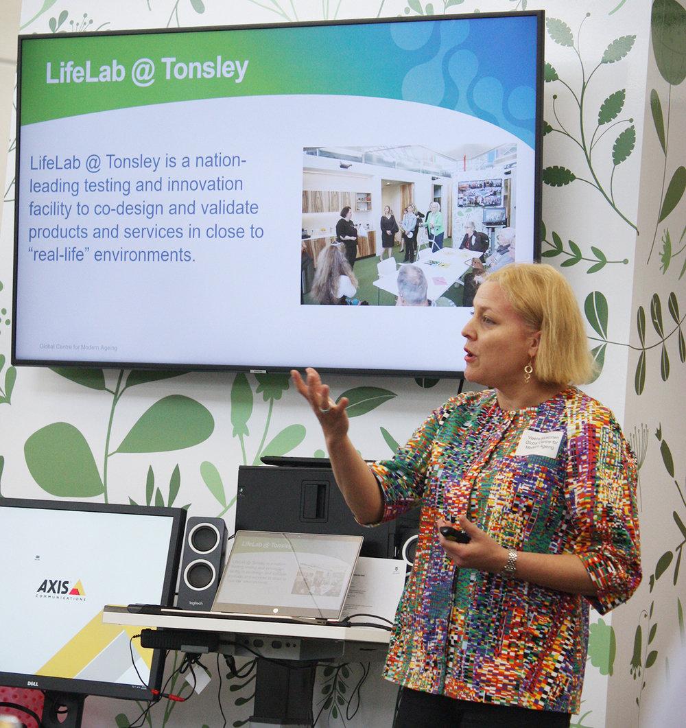 LifeLab executive director Veera Mustonen.