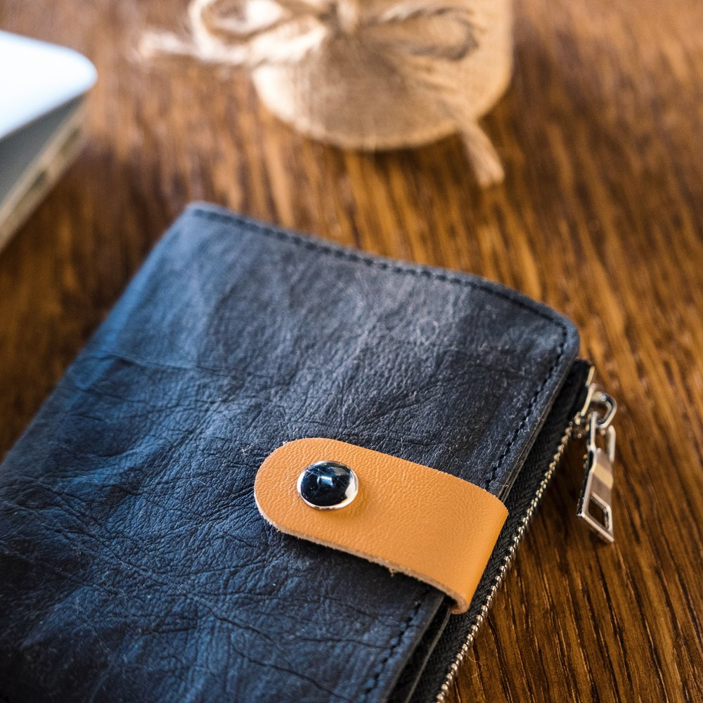 Care For What Matters - We ensure the highest quality standards of every wallet we makeThe material is water-washableClean with wet wipes if stainedAvoid over-filling the card pockets for the longest wallet life cycle