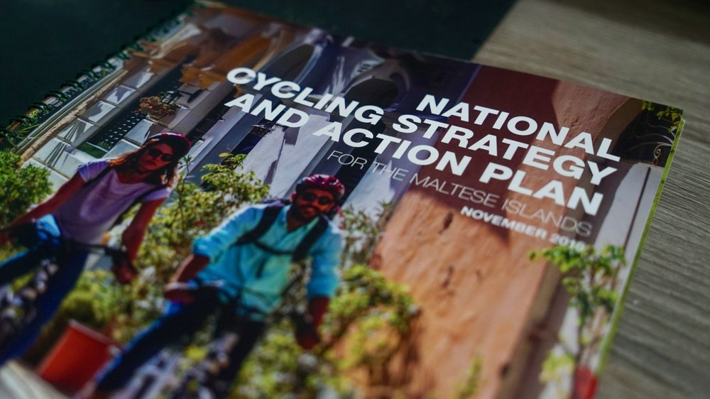 The cycling strategy was launched for public consultation in November 2018
