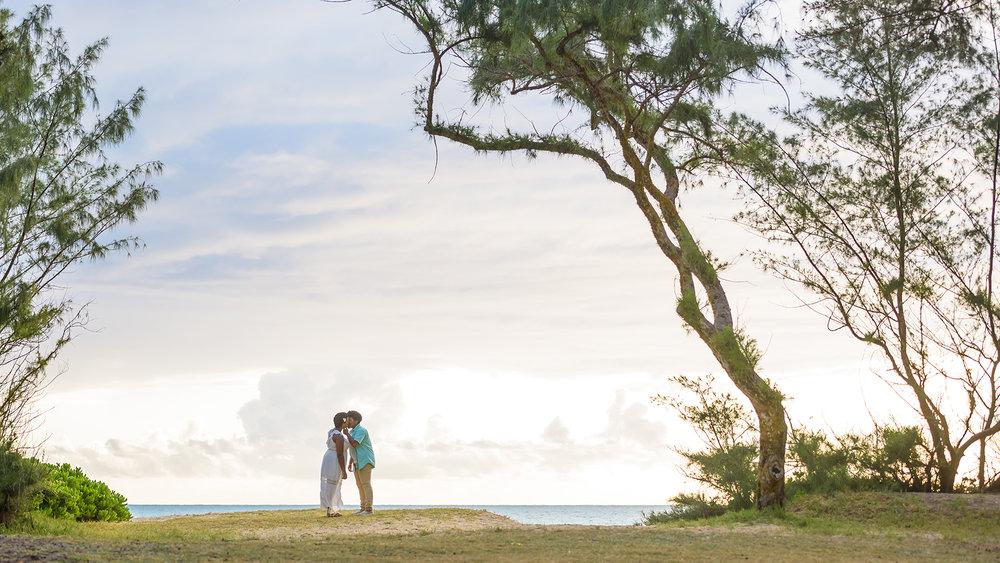 Sunrise session at Sherwood Forest in Waimanalo, Hawaii.