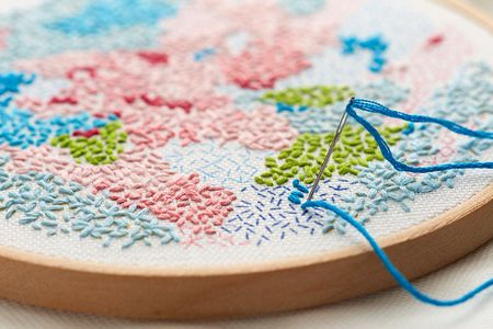 Embroidery evenings - Fridays 6.30 - 8.30starts 29th March£10 per session
