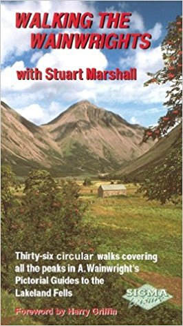 Walking the Wainwrights: With Stuart Marshall   Want to take in as many wainwright fells as possible on one walk? This is the book for you, thirty-six walks in all cover every wainwright fell all in circular routes. Even if you don't want to complete them exactly the same as Stuart, you can easily section some of these into two.