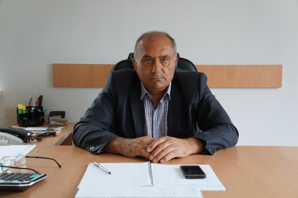 Ashot Yeranosyan, the current mayor of Shirakamut.