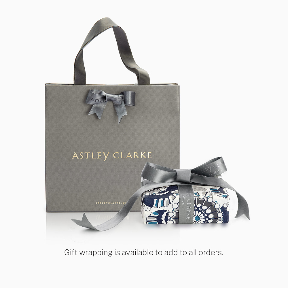FINE FINISHING TOUCHES - Luxury gift wrapping from Astley Clarke for your favourite jewellery pieces.
