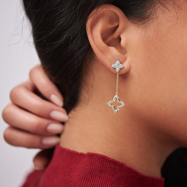 DIAMOND LOVERS - Make heads turn with this exquisite range of diamond earrings