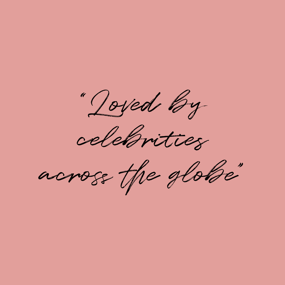 Guess Quote 'Loved by celebrities across the globe'