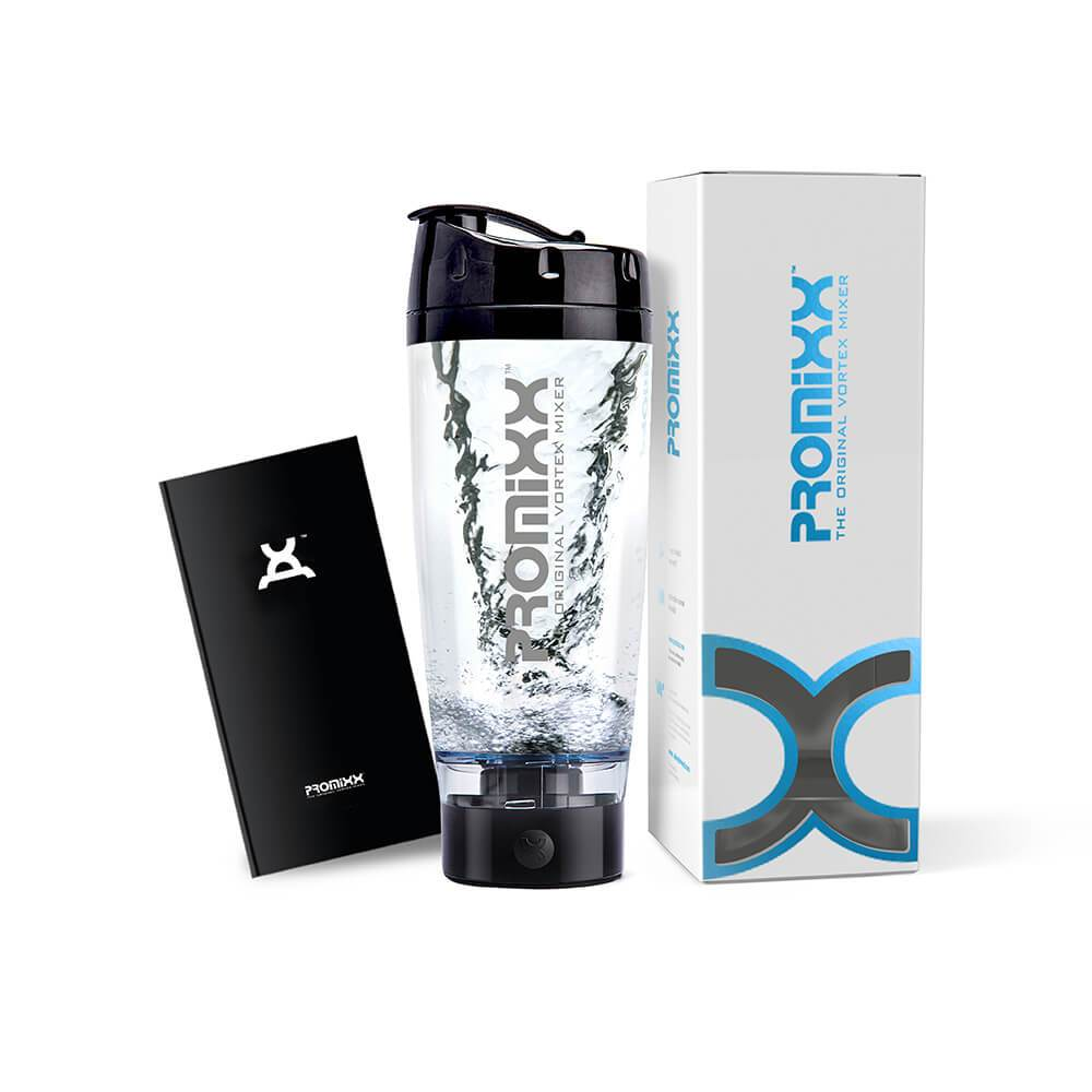 PROMiXX® Original Black High Gloss - Effortlessly mix your nutritional supplements with the touch of a button!