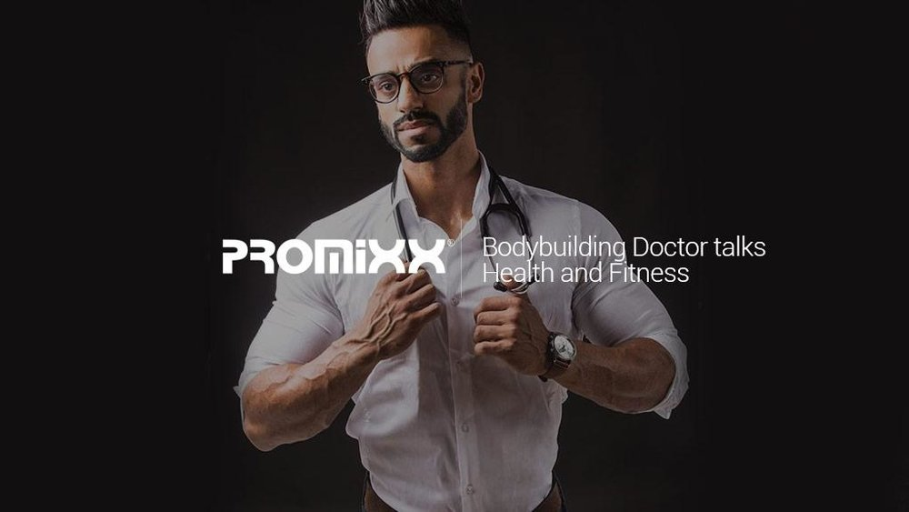 Bodybuilding Doctor Talks Health & Fitness - Find out more in In the latest video from PROMiXX with Doctor Omar Iqbal MBChB RCGP NHS General Practitioner and Welsh Muscular Physique Champion.