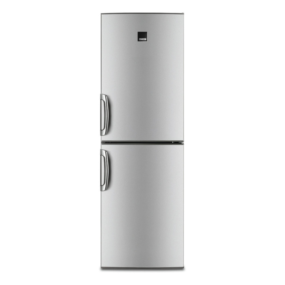 practical storage & STYLISH LOOKS - The ZRB35426XA ZANUSSI fridge freezer combines convenient storage with excellent energy efficiency stylish stainless steel looks.