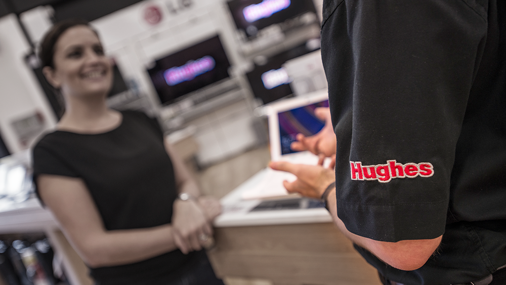 "huges - 'To this day, almost one hundred years on, Hughes remains a true family business. This longevity shows that the company motto of ""inspiring customer loyalty through quality customer service"" remains as relevant and true today as when Frank Hughes first founded the business'"