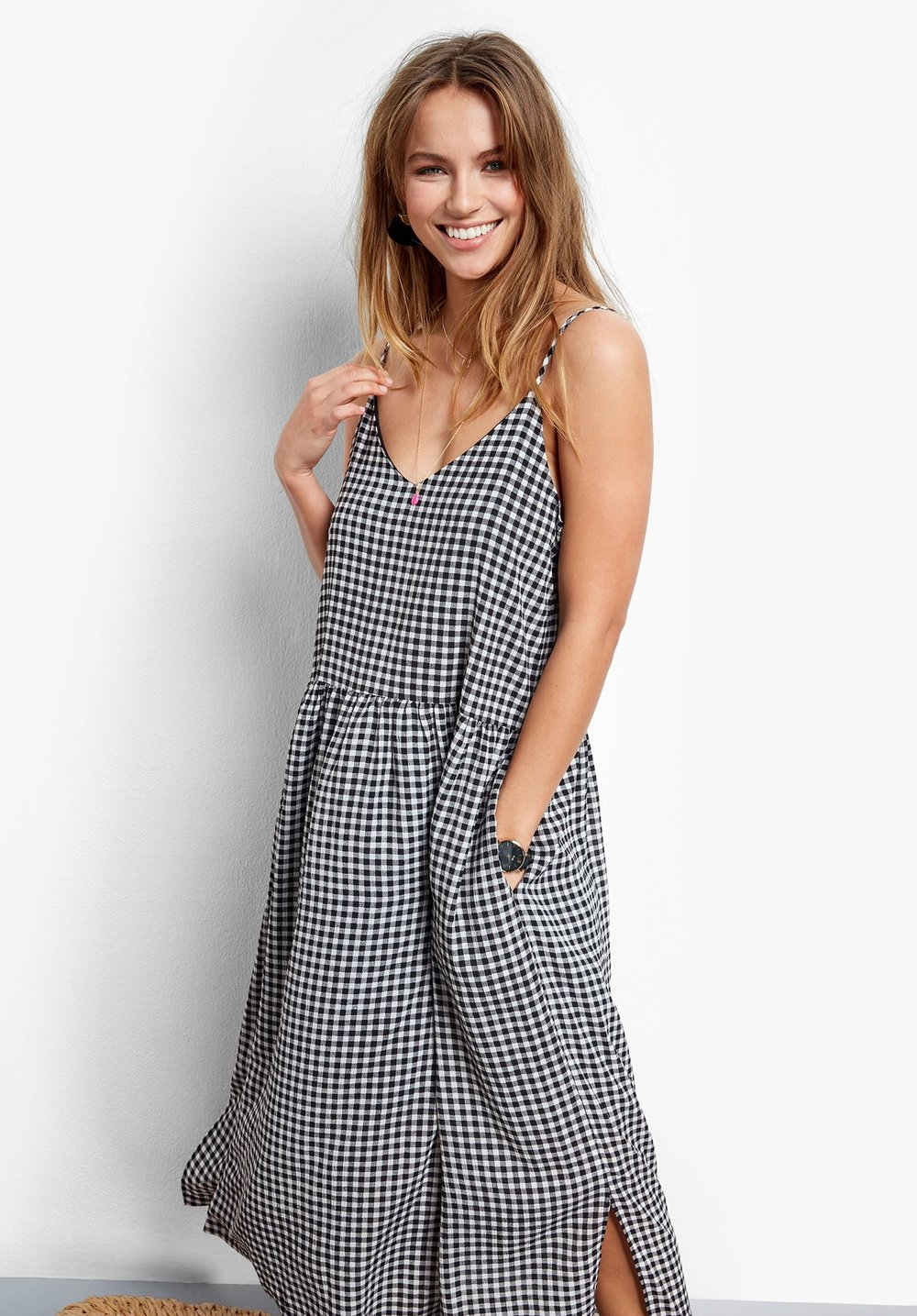 daywear - Grab this cool gingham dress to whisk you through the summer.