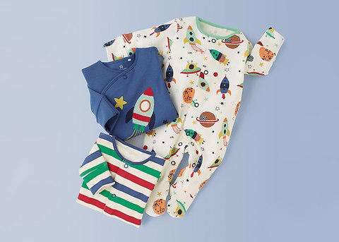 sleep suits from £12 - Shop for newborn sleep suits and sleep bags and enjoy next day delivery and free returns if you change your mind.