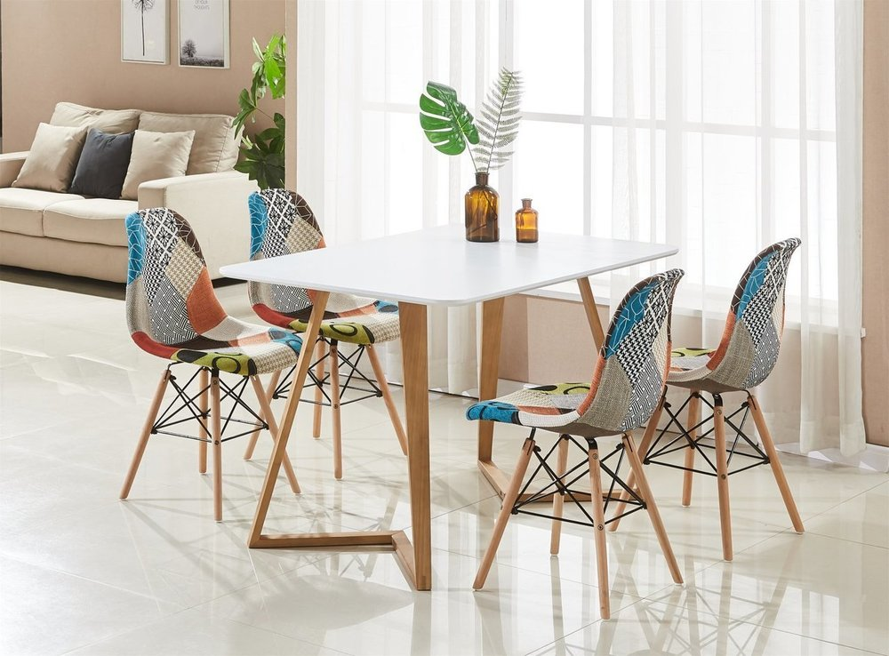 practical and modern - A fantastic dining set made from premium quality materials making it perfect for everyday use.