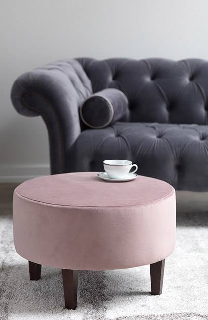 opulent velvet - Go for a decadent all-velvet interior or bejewel a room with a few velvety touches for a must have look of 2018.