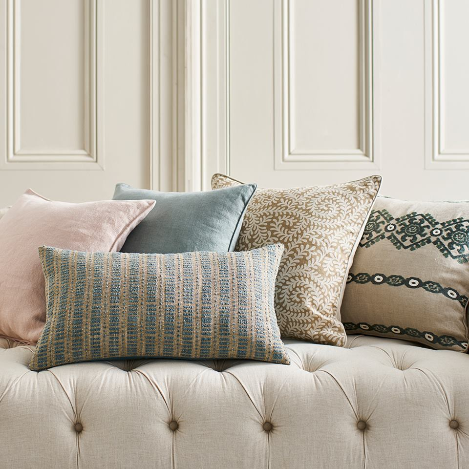 discounted luxury cushion covers - Cushions are one of the most simple and effective ways to instantly lift a room and introduce colour. Update the look and feel of your room quickly and easy by changing your cushion covers. *Discounts available on selected cushion styles.