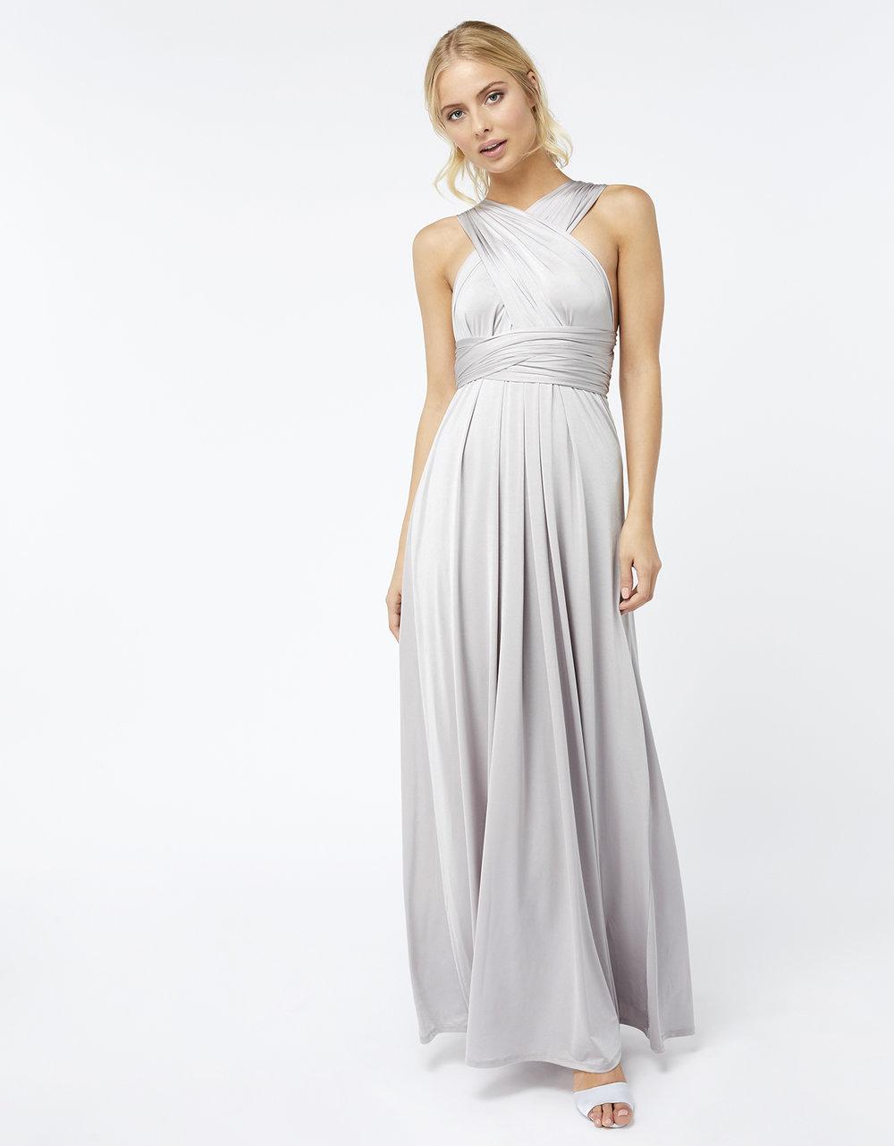 Silver Bridesmaid Dress Autumn 2018 Fashion Trends