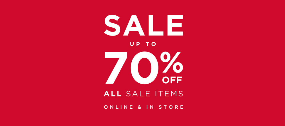 Up to 50% Off in the Summer Sale at Monsoon banner, white text on red background