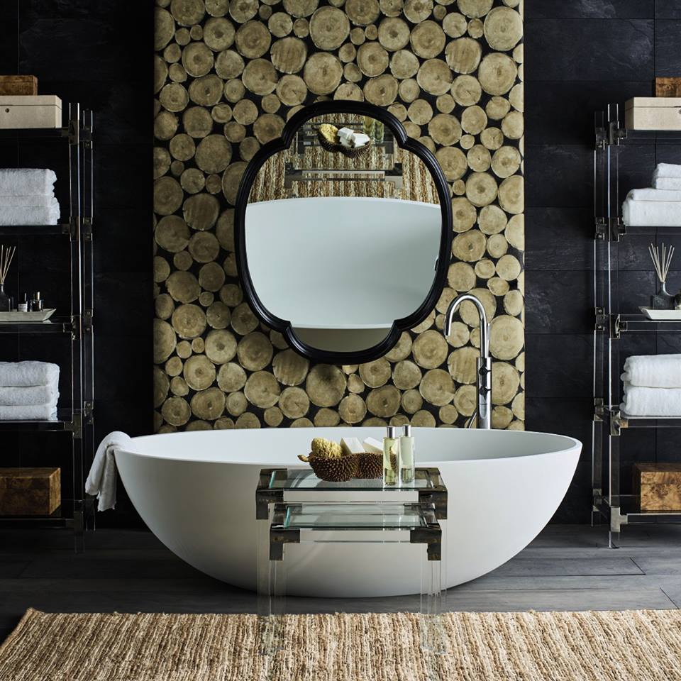 Bath by C.P. Hart Bathrooms - The ultimate happy place. Sink into luxurious bathroom accessories making for the perfect end of the day haven and enjoy fantastic discounts at OKA.