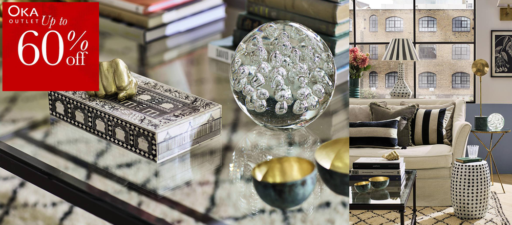 Shop Oka luxury furniture and discounted classic home accessories with these great deals and fantastic discount codes. Discover Oka's range of quintessentially British luxury furniture and accessories in the sale.