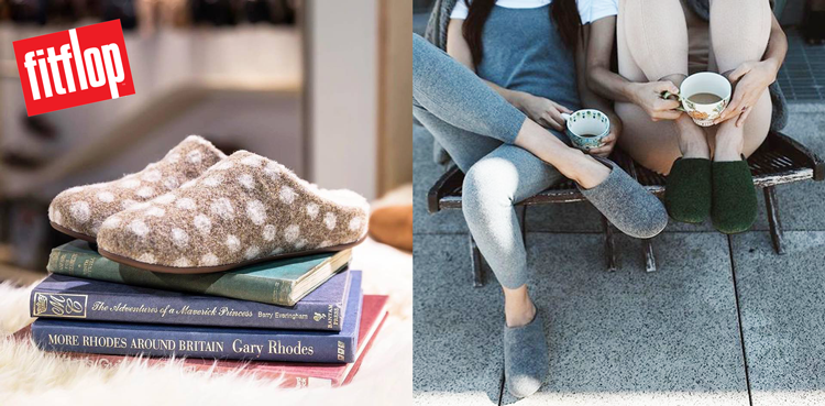 win two pairs of stylish slippers from fitflop -