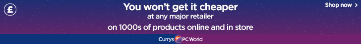 You won't get it cheaper at any major retailer on 1000s of products online and in store Curry Pc World