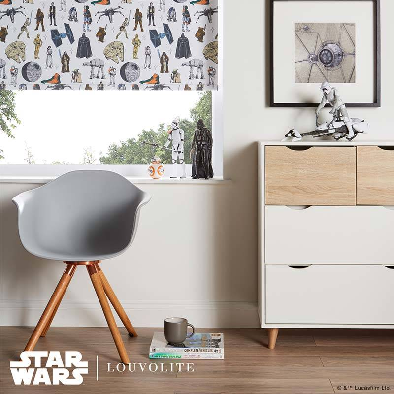 Discounted DISNEY COLLECTION STAR WARS ™ CHARACTERS BLACKOUT ROLLER BLIND