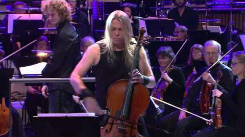 APOCALYPTICA PLAY ANGRY CELLOS AT SLUSH
