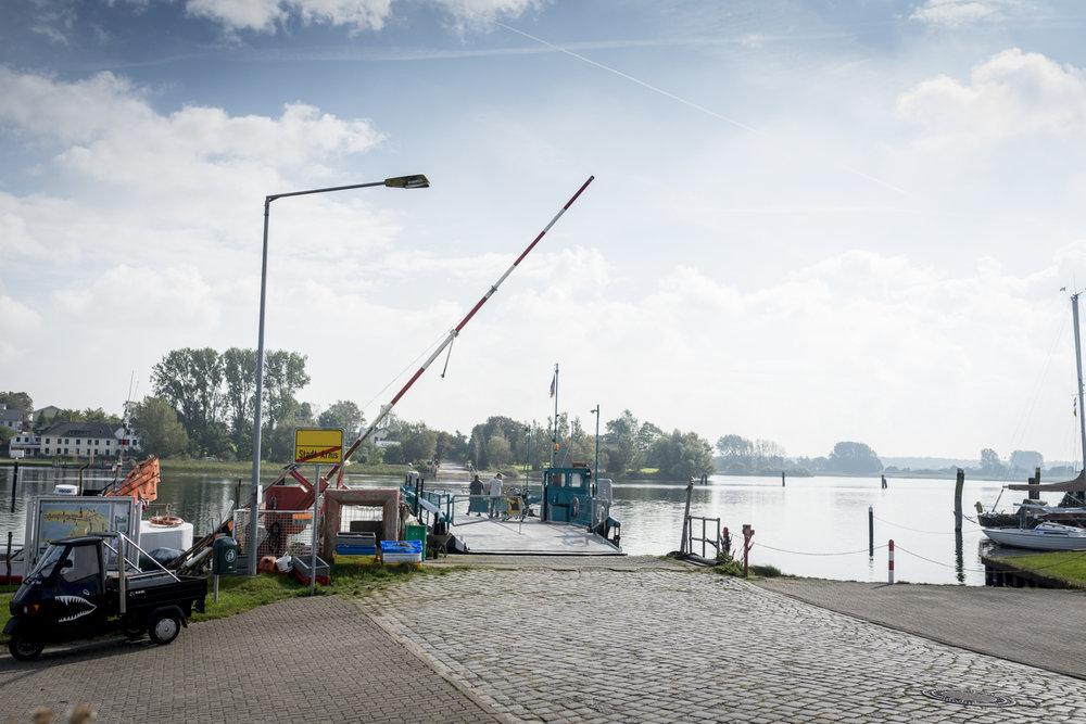 Die kleine Fähre von Arnis (Copyright: Axel Martens)