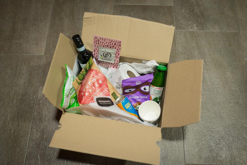 Nachhaltig durch und durch: die Box zum sleeperoo (Copyright: Axel Martens)