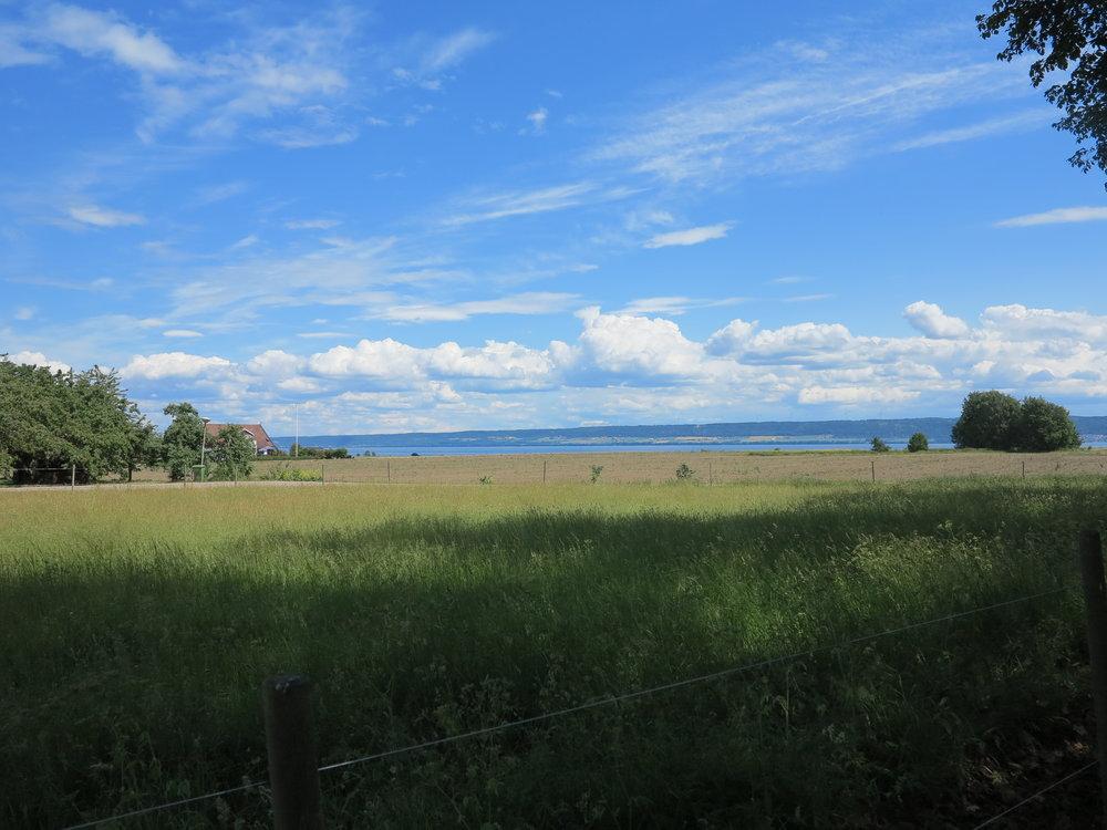 Wolken, Wasser, Wald und Weite auf Visingsö