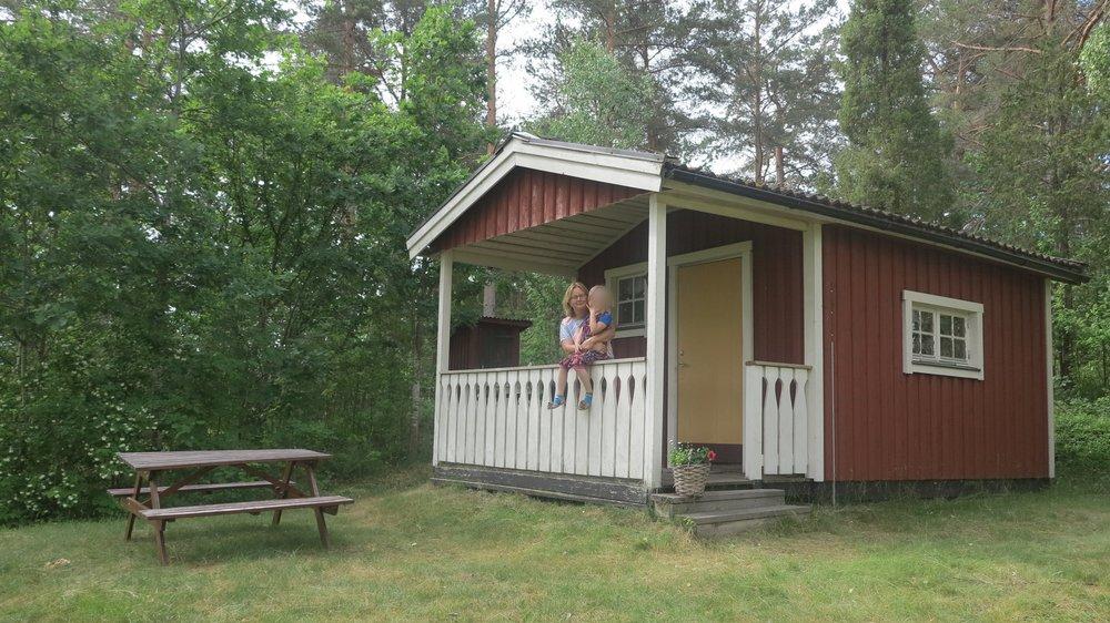 Unsere Waldhütte auf Bullerby