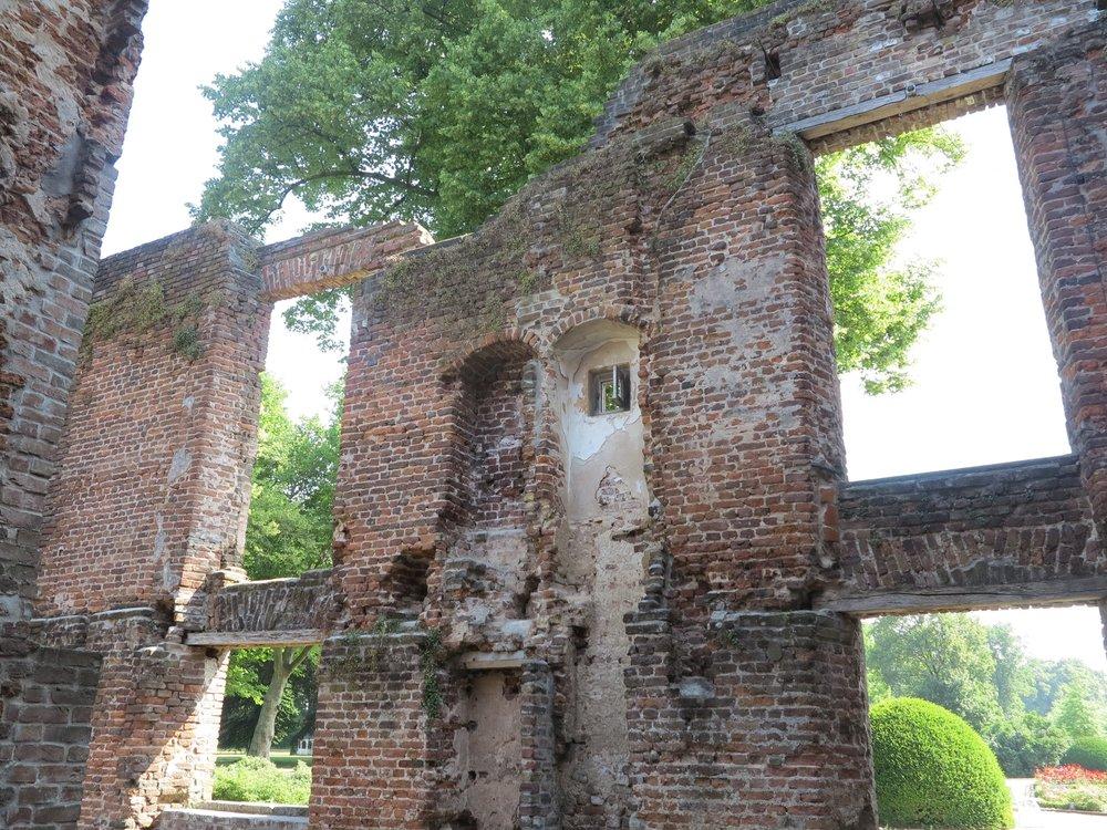 Beeindruckend: die bewohnbare Schlossruine