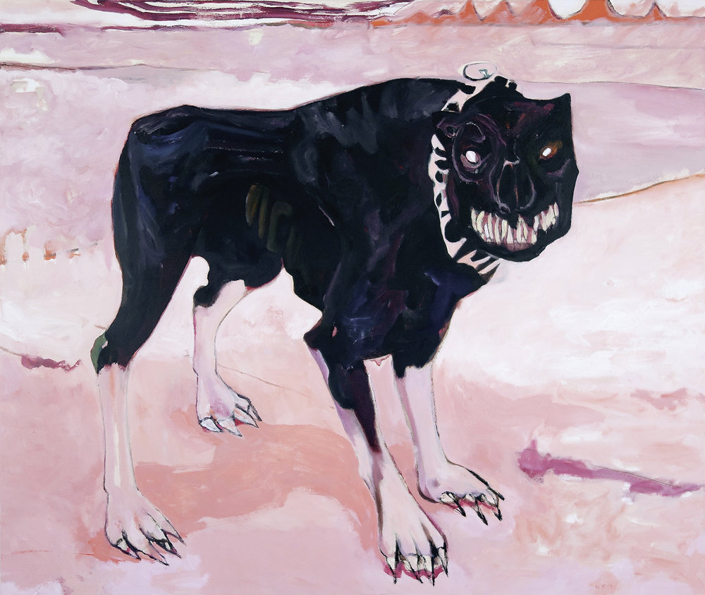 Garmr oil on canvas 120 × 100 cm, 2015