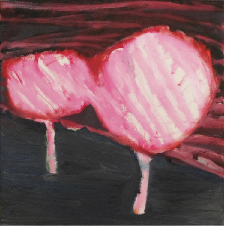 Trees oil on canvas 40 × 40 cm, 2013