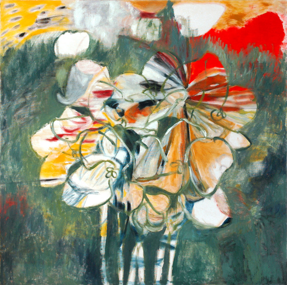 Viola oil on canvas 120 × 120 cm, 2005