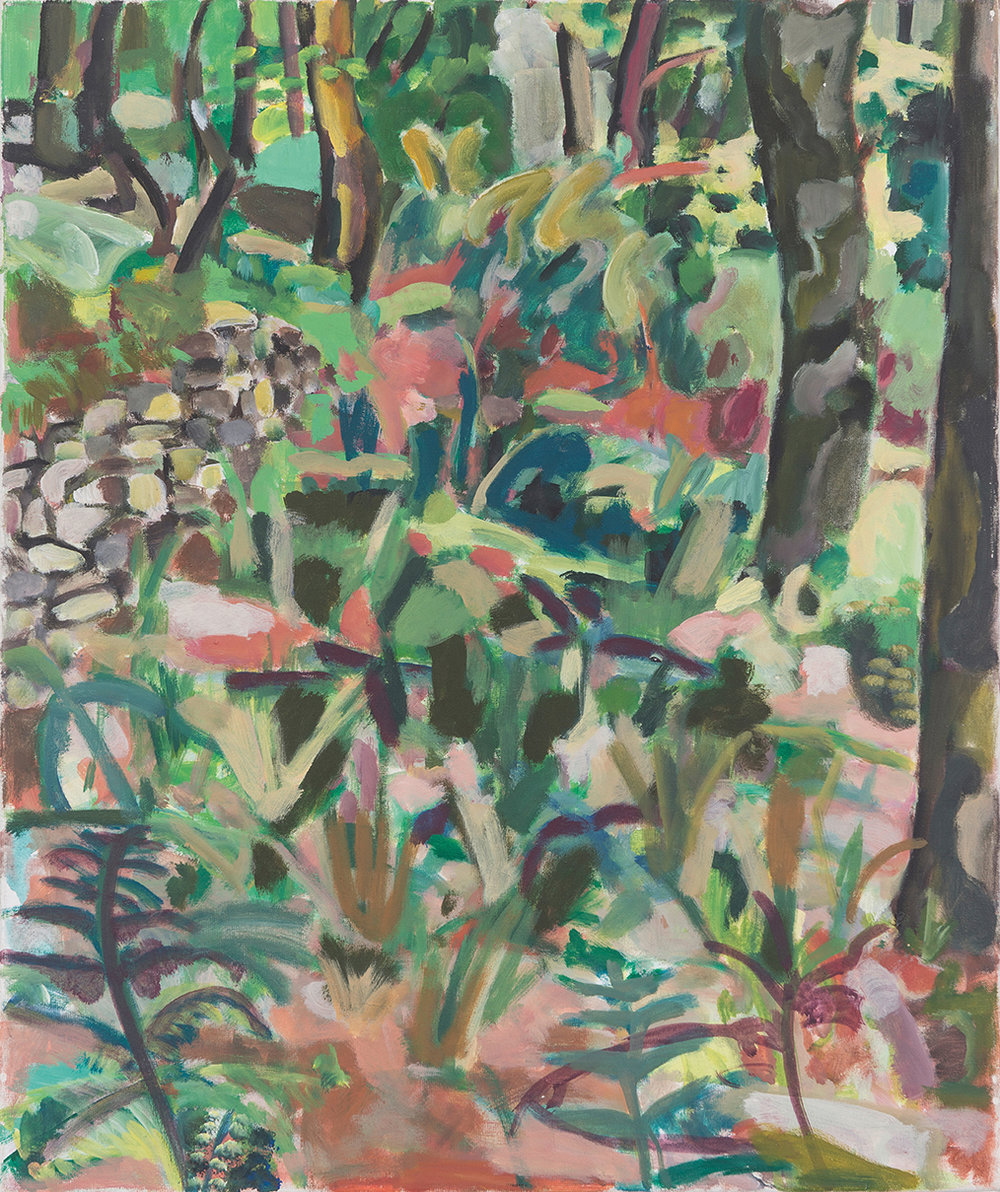 Fernwood oil on canvas 40 × 30 cm, 2001