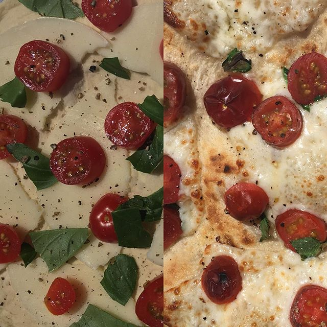 Before and after. 90 seconds. #100in1dayott  #pizzaoutside