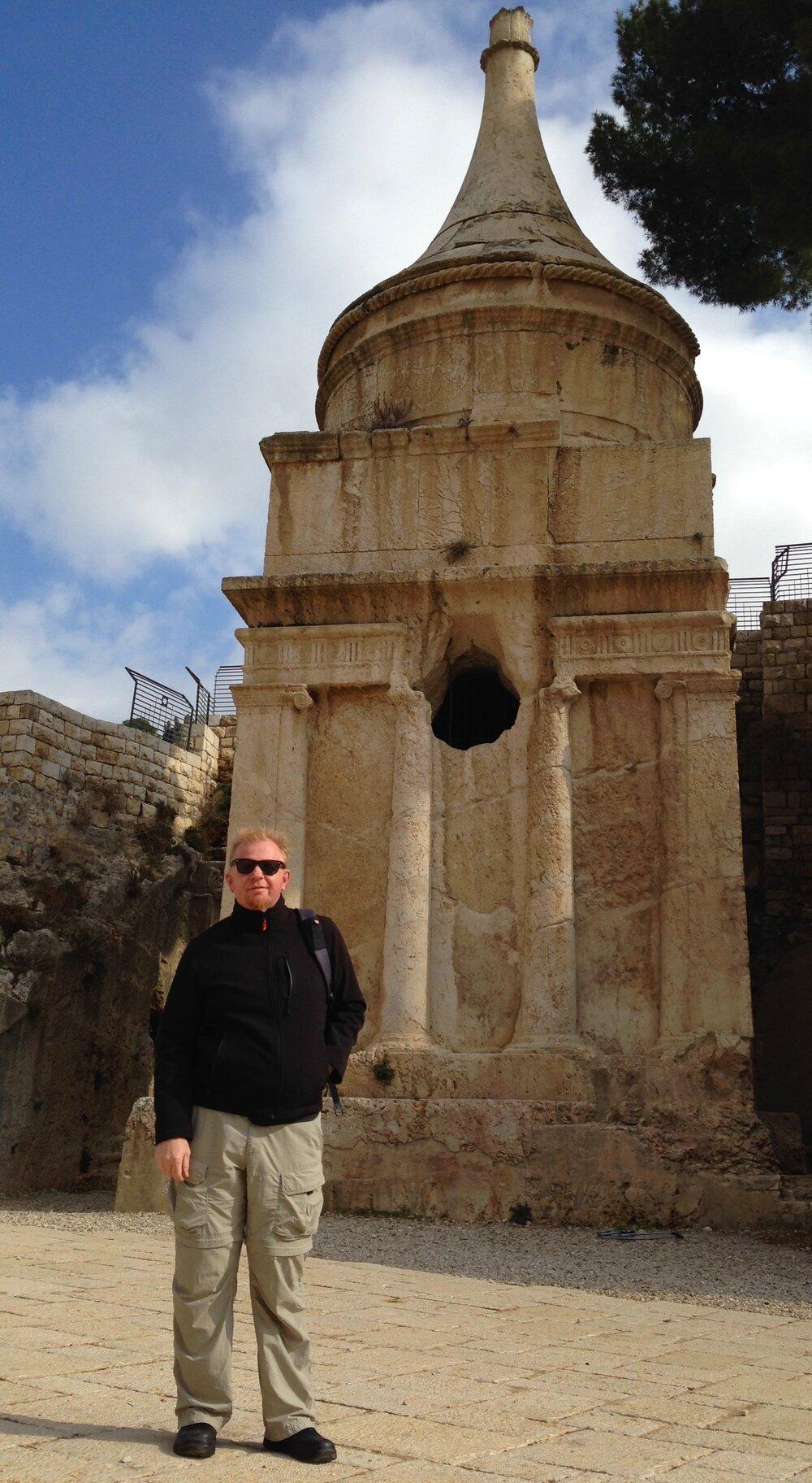 #19 O, Absalom (Tomb), Jerusalem.jpg